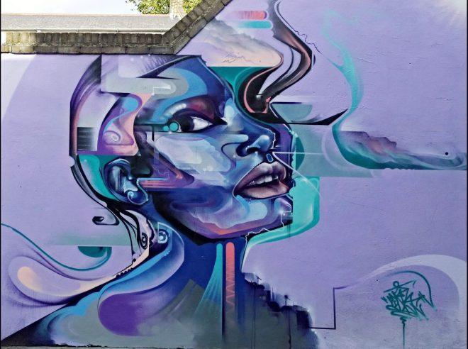 Mr Cenz art on Fashion Street