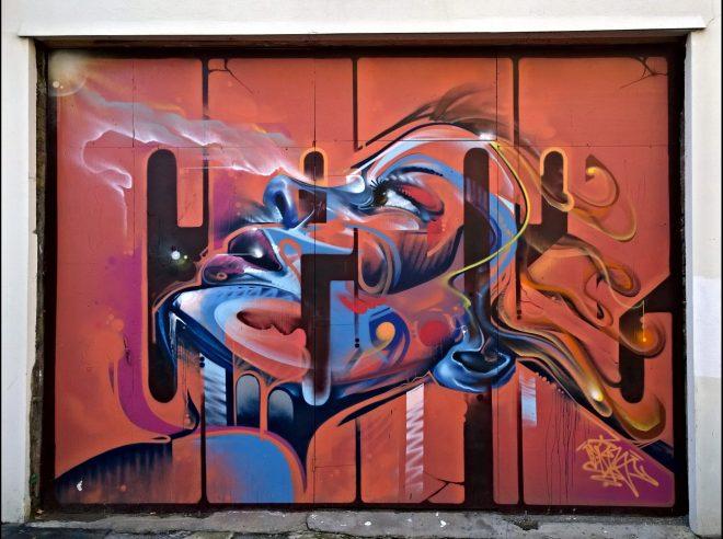 Mr Cenz art on New Inn Broadway in Shoreditch