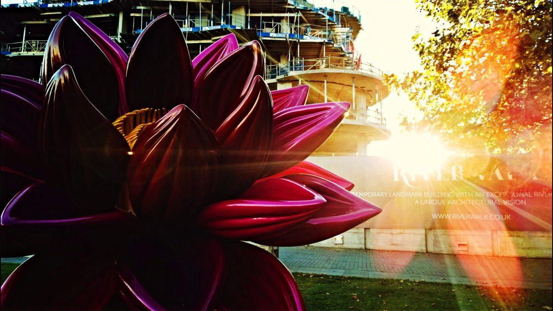 Ana Tzarev Peace Sculpture in Riverside Park Gardens