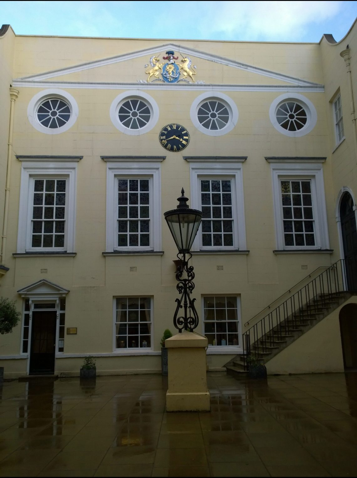 The Apothecaries Hall on the site of the former Blackfriars Monastery