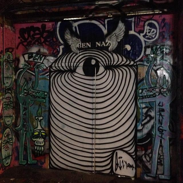 Piece by Blair Zaye and Ubangibangi photo by Blair Zaye taken  from 'Team Naz' facebook page