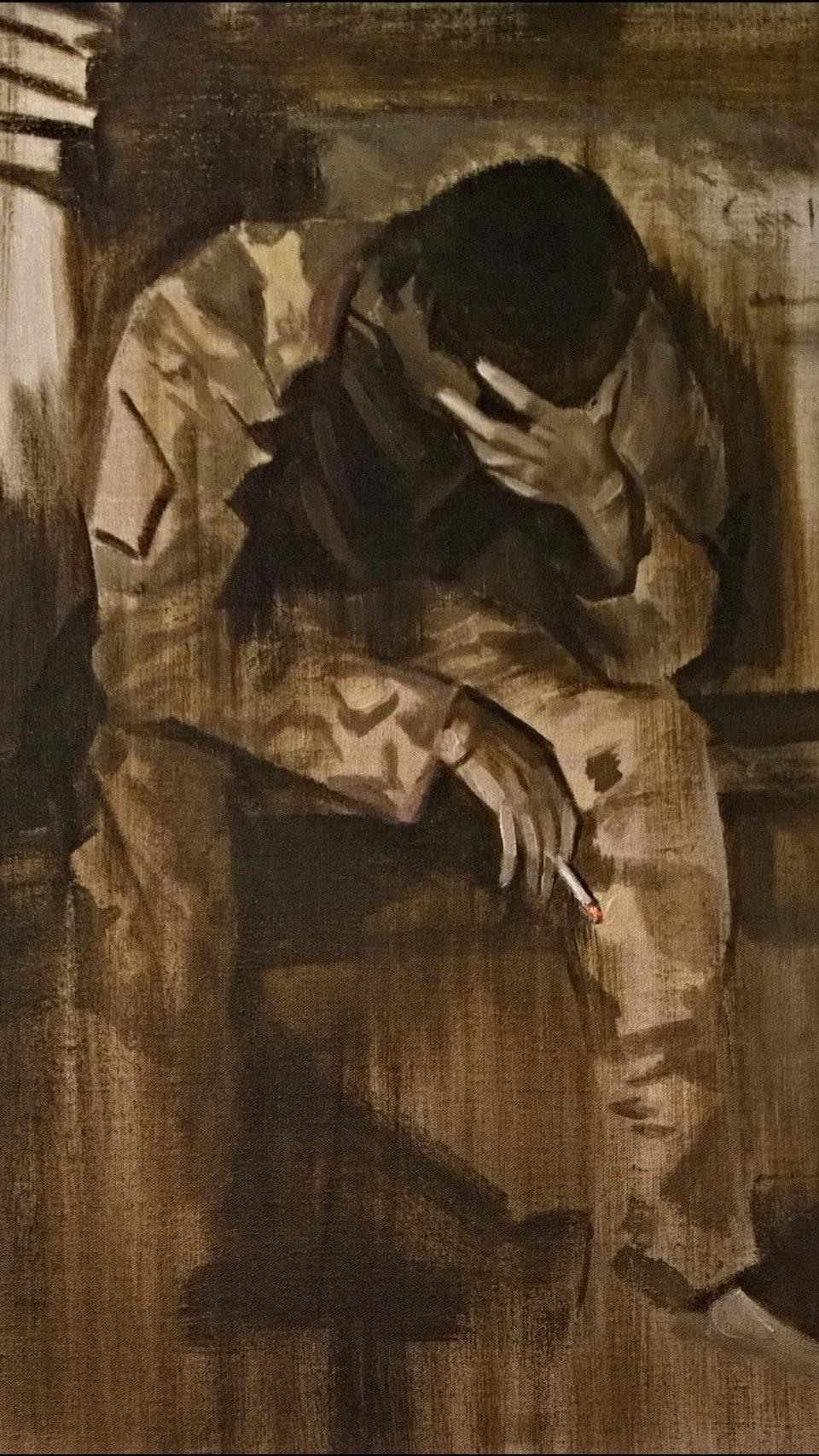 'He was my friend' by Arabella Dorman