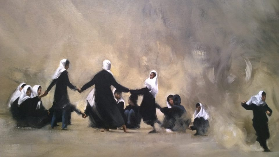 The dancing girls by Arabella Dorman