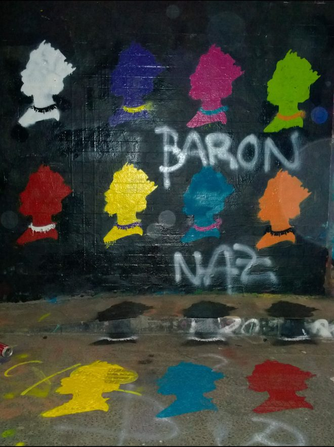 Work from Baron Naz, the son of Ben following in his fathers footsteps