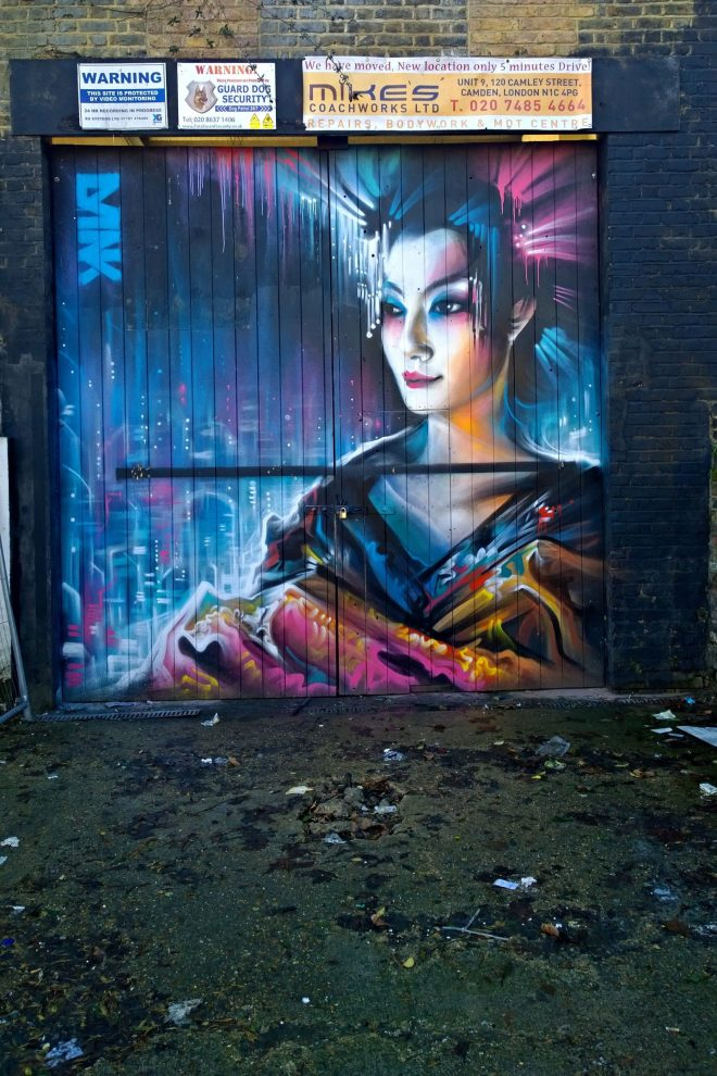 Dan Kitchener on Hawley Road