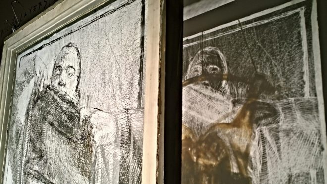 The room is a collaboration with Edoardo Tresoldi