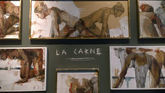 The  'La Carne'  a collaboration with Carmen Main