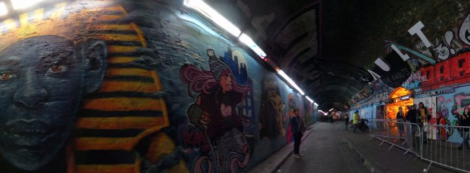 Work in the tunnel featuring the likes of Zina and Roo