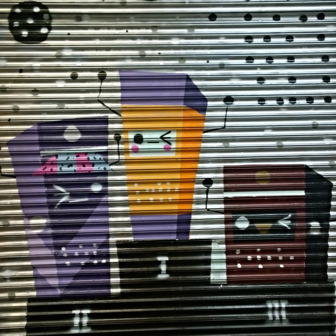 Marianna Cute painted these little champions of Leake Street