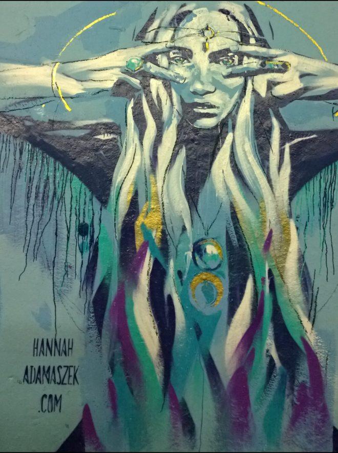 Hannah Adamaszek won the judges prize for most impressive piece
