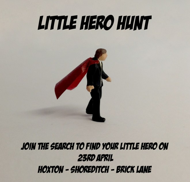 As a prelude to the show, Roys 'Little Heroes' will also be hidden around London