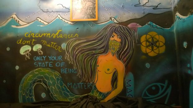 A mermaid from Carolina Maggio in Montys
