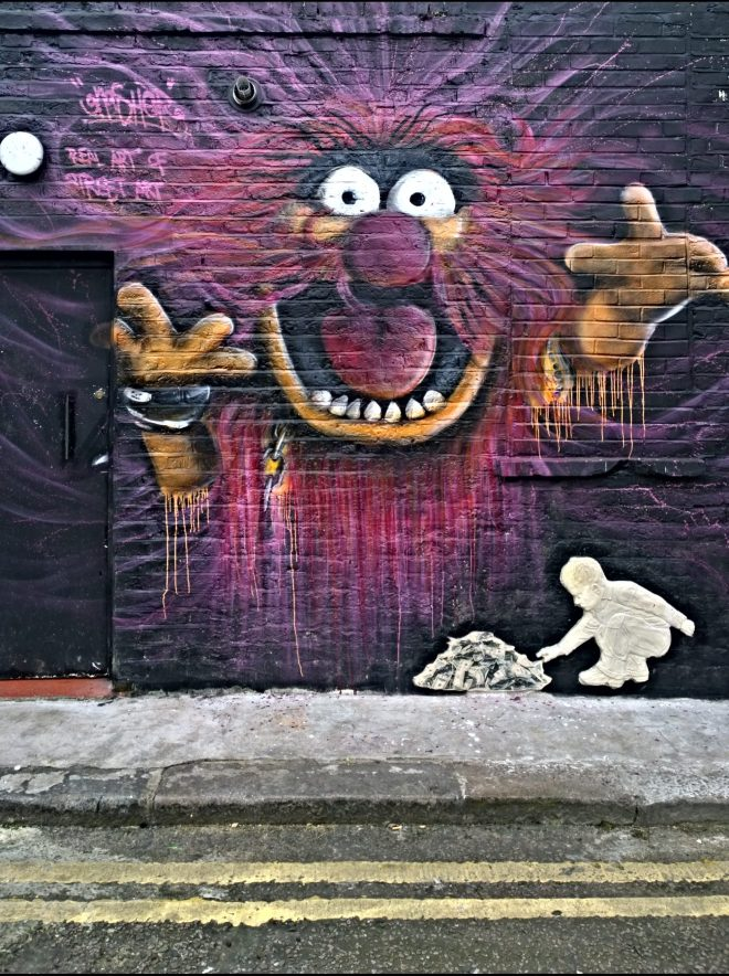 Gnasher's tribute to the muppets has been getting a lot of admirers