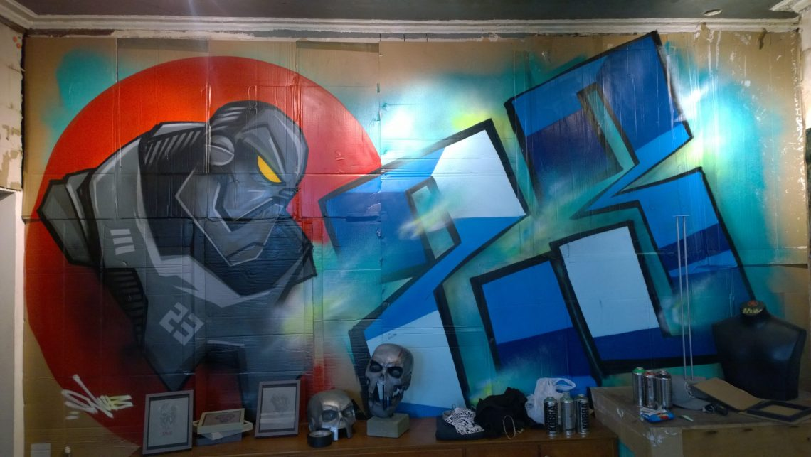 Mongrol painted by SNUB