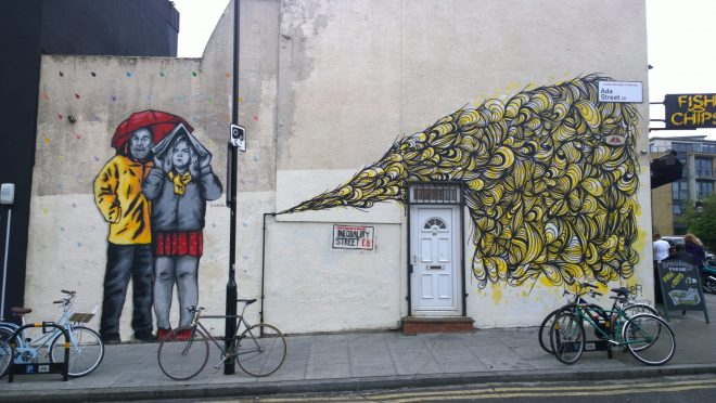 Zabou and Kef on Ada Street just off Broadway Market