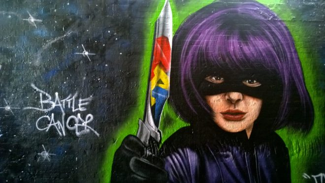 The very talented JXC has been making his mark recently.  This Hit Girl was a real treat to see