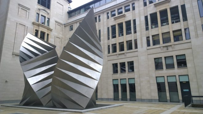 Angels Wing in Paternoster Square
