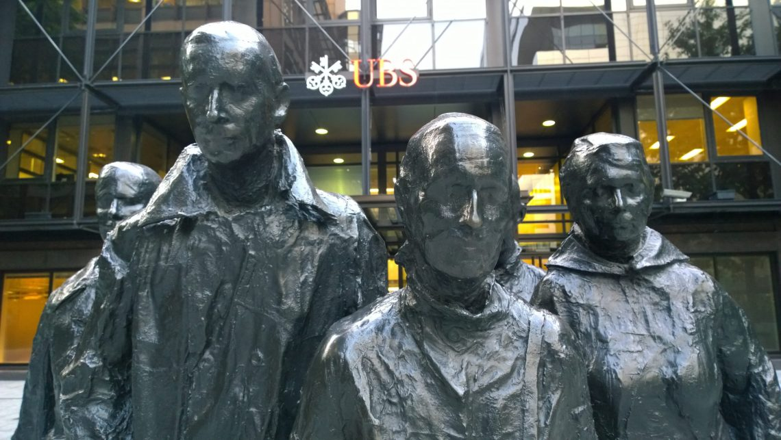 Rush Hour by George Segal