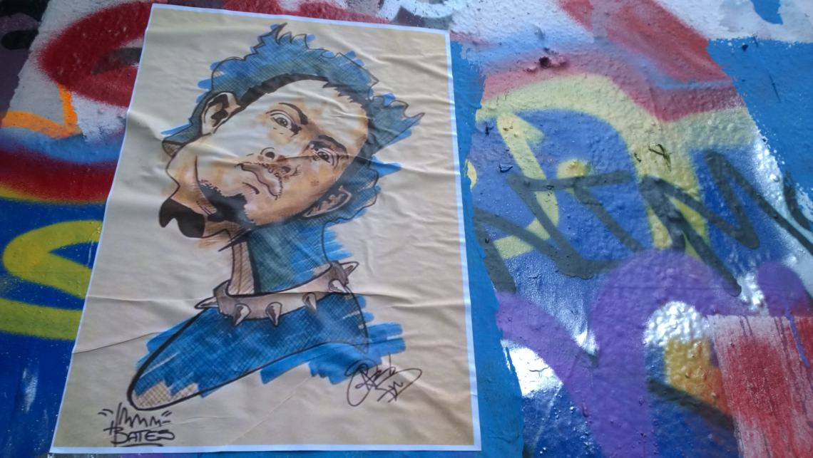 Paste up from Pixel Pencils and Pauli Bates