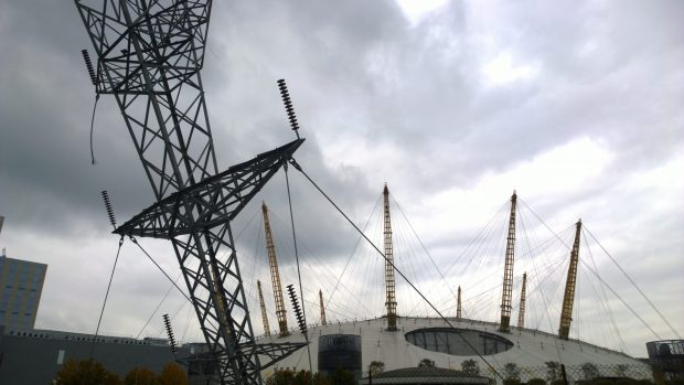 With the millenium dome