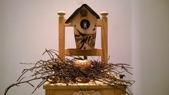 Morgandy tribute to his father called 'Nest in Peace'