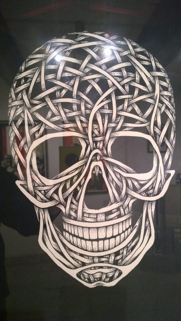 Otto Schade skull