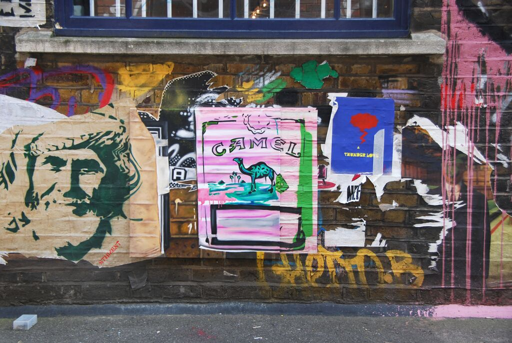 Got the Hump (in Blackhall Street) by Andrea Tyrimos