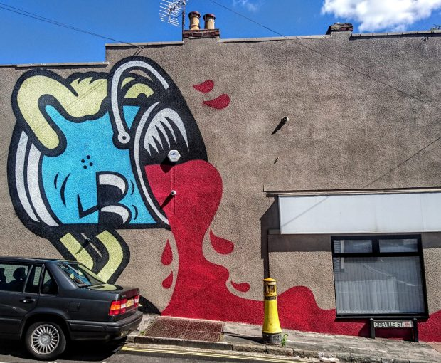 north street bristol mr bump