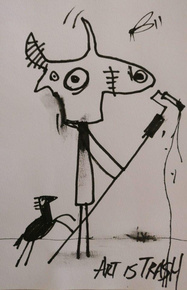 art is trash black book