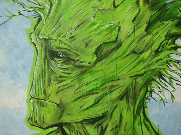 lora zombie I am Groot