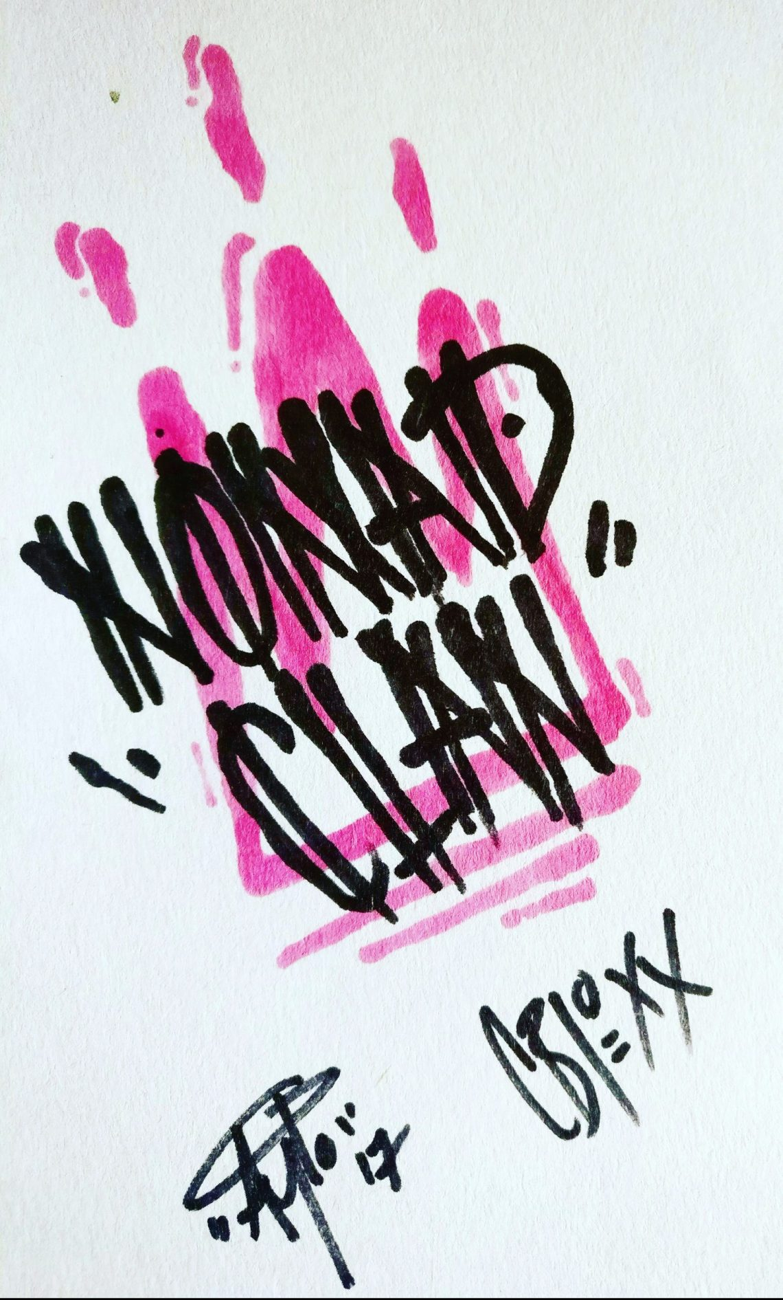 Nomad Clan Black Book Tag
