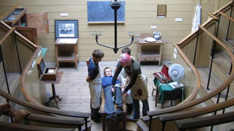 The old operating theatre in London Bridge is one of our mysterious spots in London