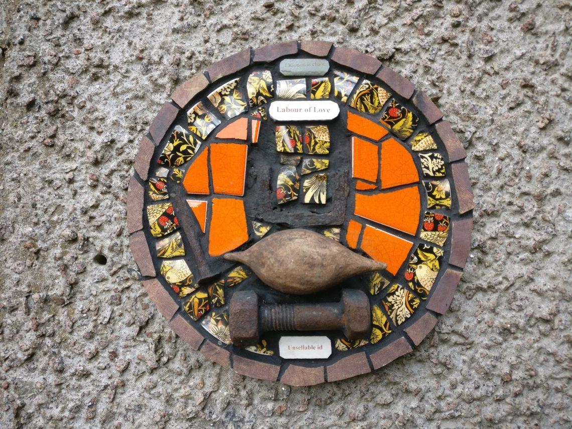 A micro mosaic from Karen Francesca