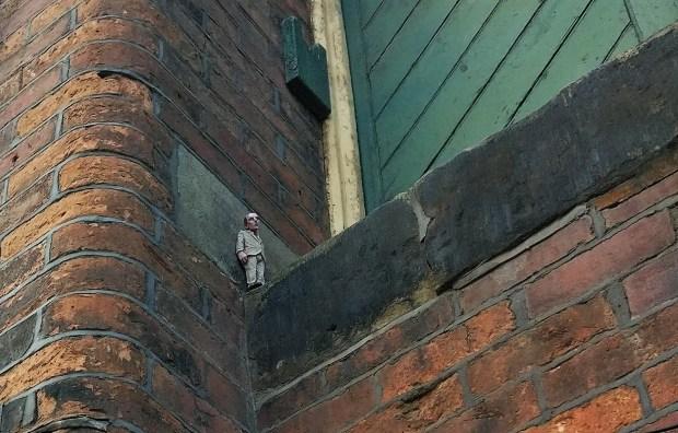Isaac Cordal Blackburn Open Walls