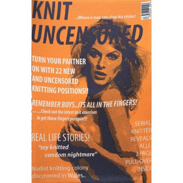 Knit Uncensored Kelly Jenkins secret art prize