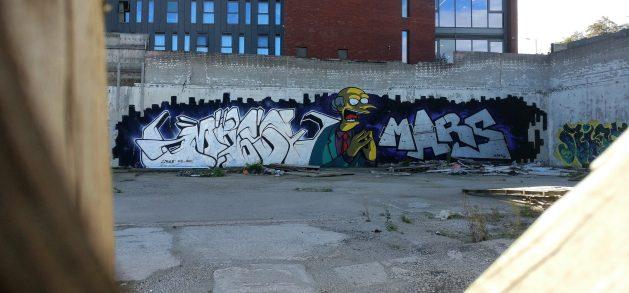 Graffiti from MARS
