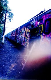 Dscreet out on the trainyards