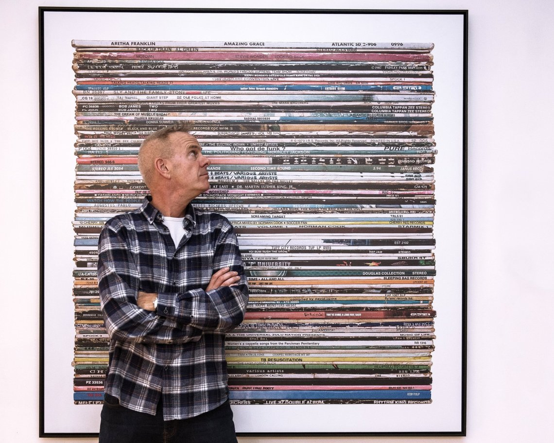 norman cook with art
