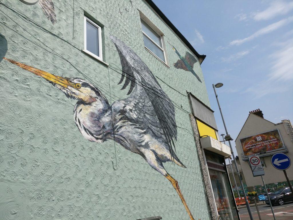 The Street Art of St James Street in Walthamstow