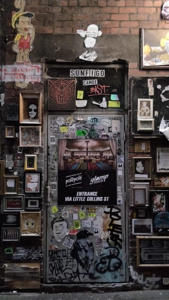 Street art in Presgrave Place