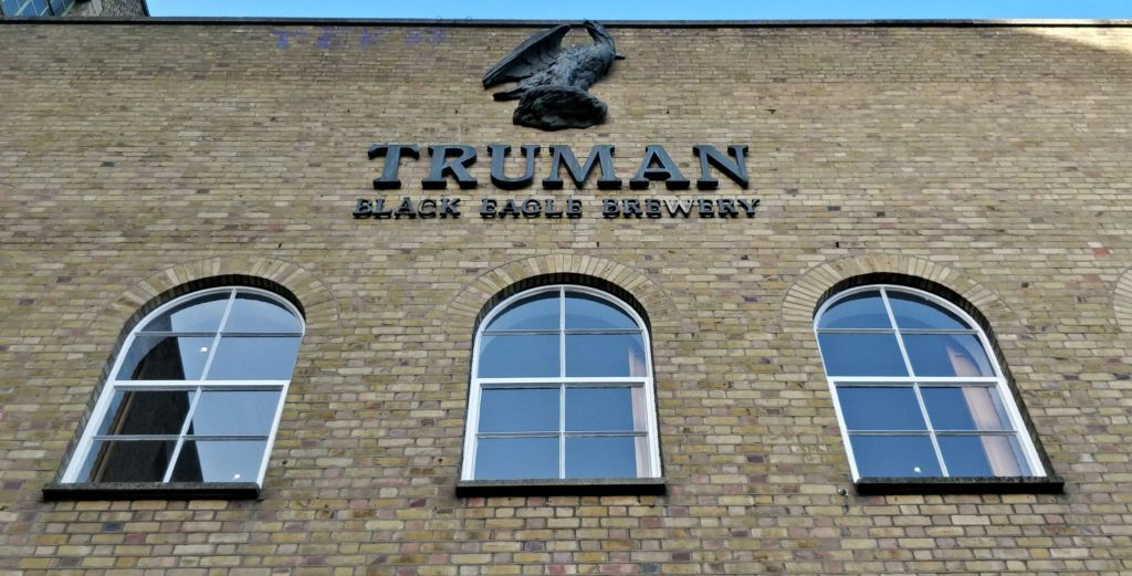 The Truman Brewery was also known as the Black Eagle Brewery