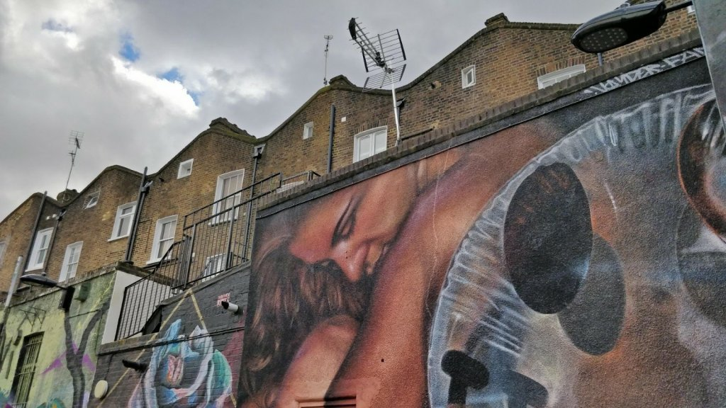 Voydor and Fanakapan collaboration on Hawley Street