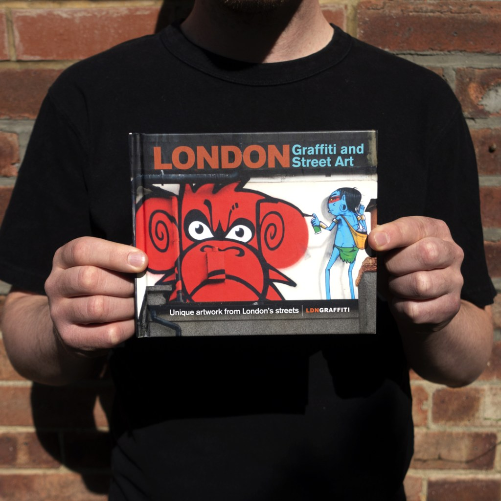 LDN Graffiti books with special covers will be raising money for GOSH