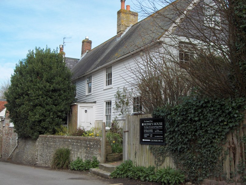 Monks House in Sussex where the Woolf's lived. They were core members of the Bloomsbury Group
