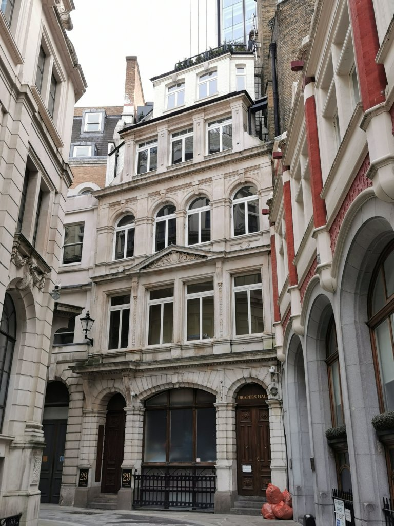 Drapers Hall from Austin Friars