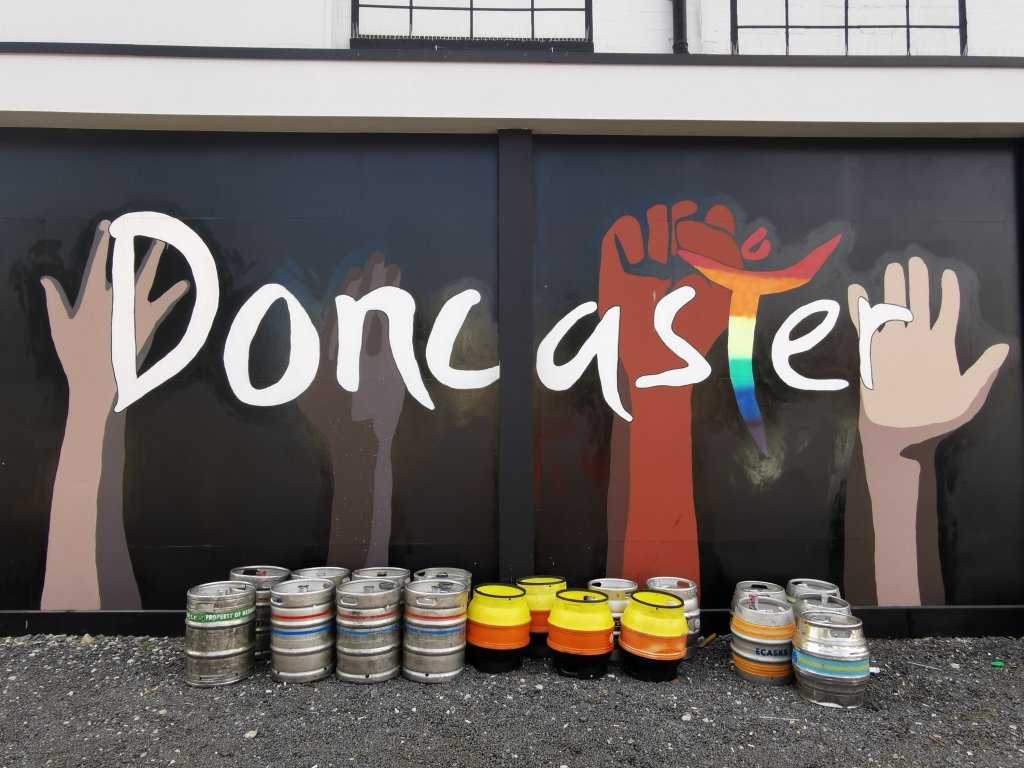 Doncaster street art in South Yorkshire from Natasha Clark