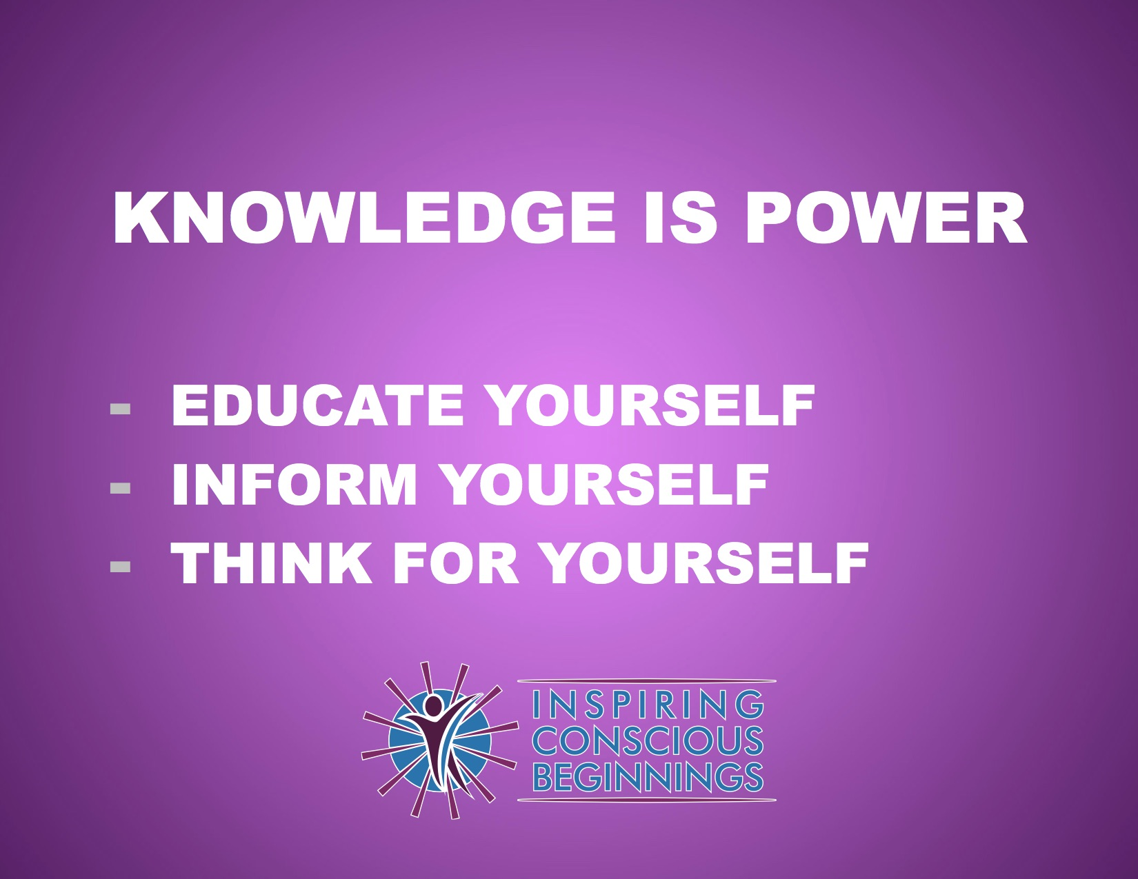 knowledge is power inspiring