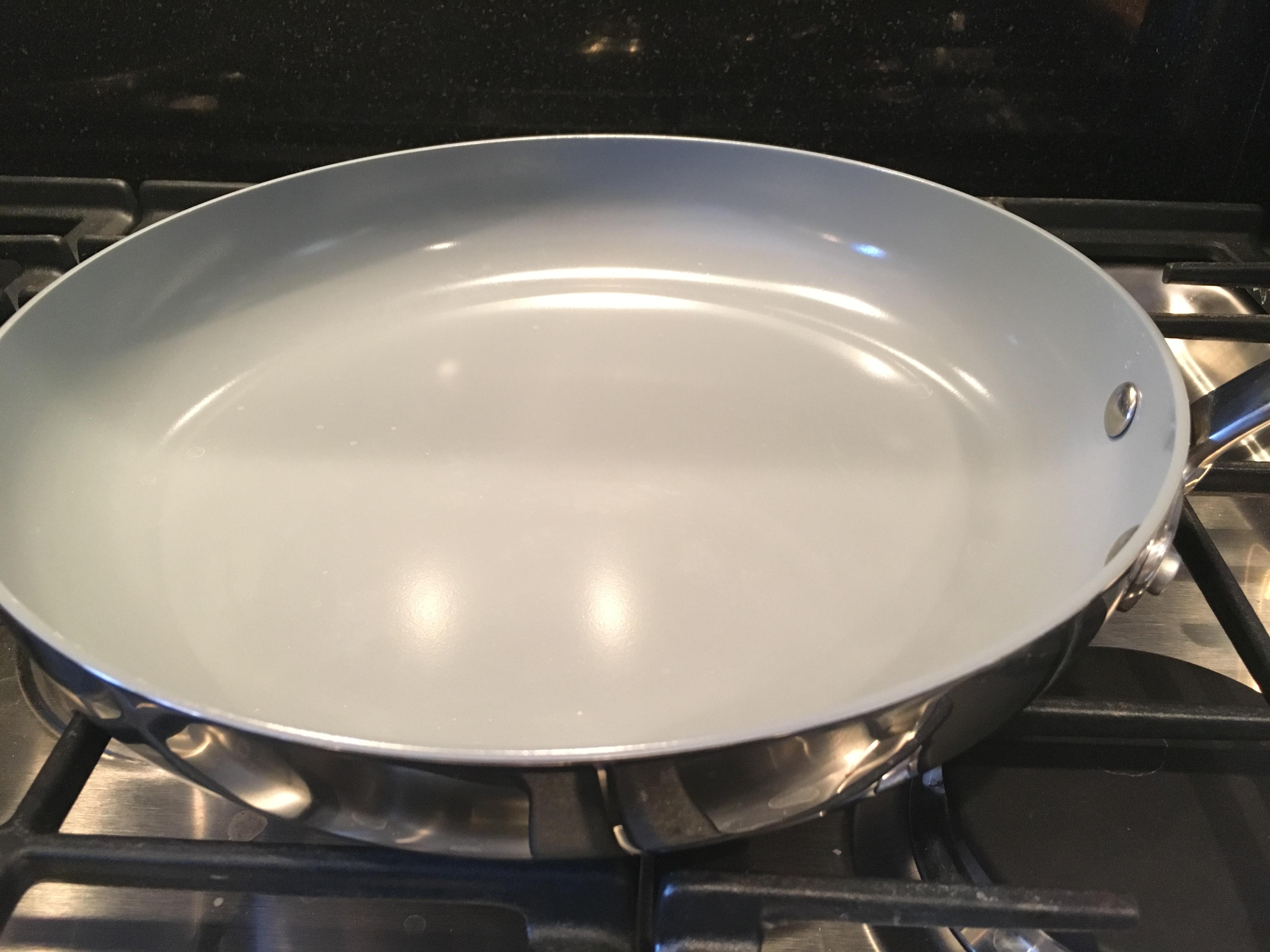 Inspiring Kitchen Green Pan ceramic