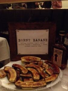 banana dessert