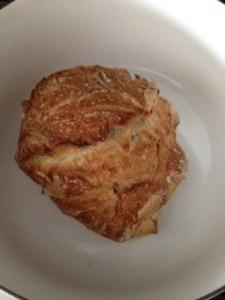 bread in pot